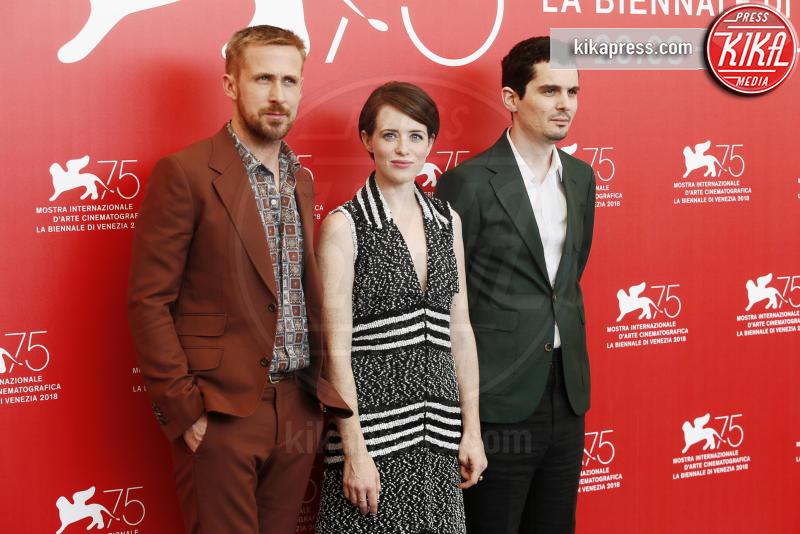 Claire Foy, Damien Chazelle, Ryan Gosling - Venezia - 29-08-2018 - Venezia 75: Chazelle-Gosling, dove eravamo rimasti?