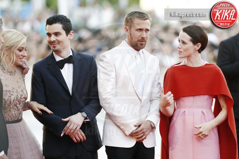 Claire Foy, Damien Chazelle, Ryan Gosling - Venezia - 29-08-2018 - Scorsese-DiCaprio & Co.: squadra che vince non si cambia