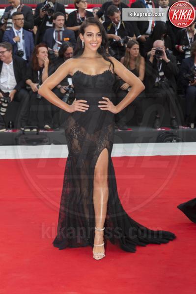 Georgina Rodriguez - Venice - 29-08-2018 - Venezia 75: gli stilisti sul primo red carpet