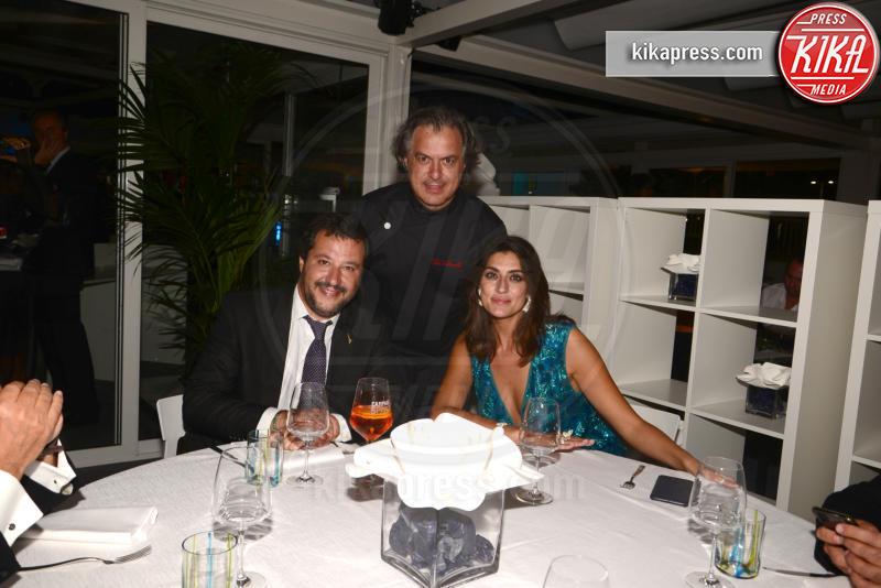 Matteo Salvini, Elisa Isoardi - Venezia - 29-08-2018 - Venezia 75: il duro attacco di Spike Lee a Matteo Salvini