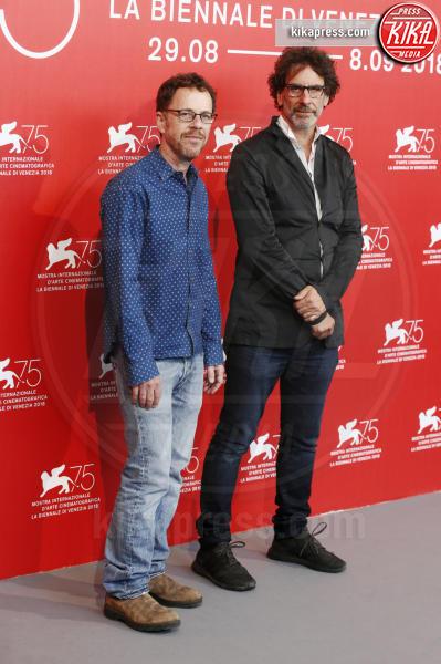 Ethan Coen, Joel Coen - Venezia - 31-08-2018 - Venezia 75: il photocall di The Ballad of Buster Scruggs