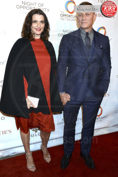 Daniel Craig, Rachel Weisz - New York - 09-04-2018 - Fiocco rosa per Rachel Weisz, che belle le mamme negli anta!