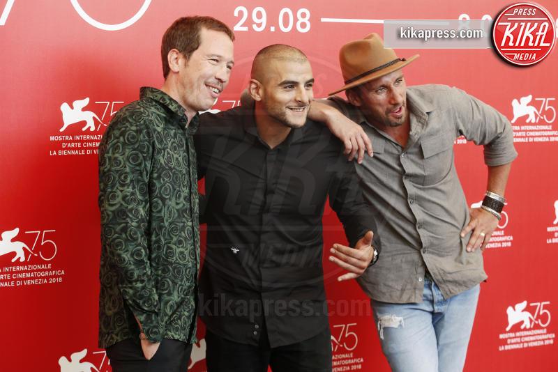 Adel Bencherif, Reda Kateb, Matthias Schoenaerts - Venezia - 01-09-2018 - Venezia 75: il photocall di Frères Ennemis