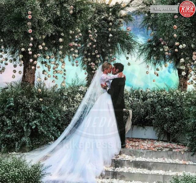 Matrimonio #TheFerragnez: i cambi d'abito della sposa