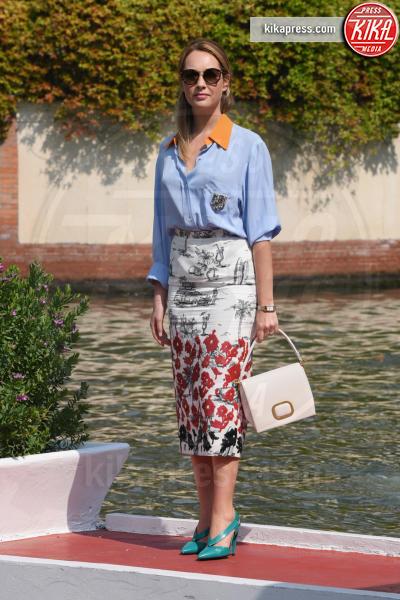Cristiana Capotondi - Venezia - 01-09-2018 - Venezia 75: Beatrice Valli, al Lido con Marco e Bianca
