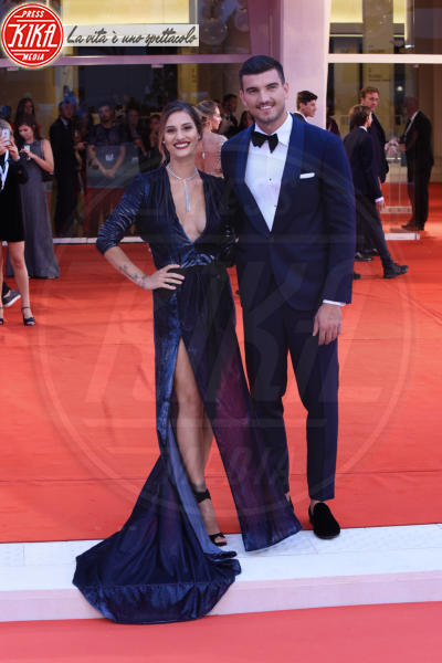 Beatrice Valli, Marco Fantini - Venezia - 01-09-2018 - Venezia 75, il red carpet più romantico che ci sia