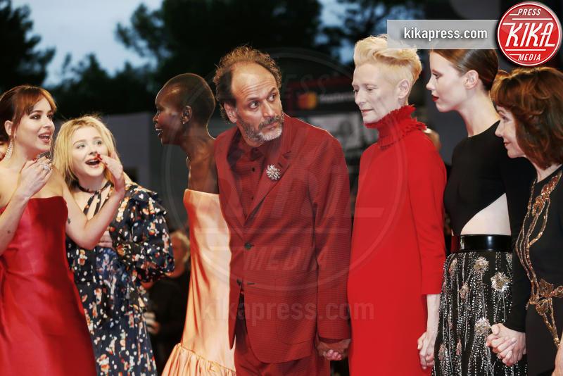 Dakota Johnson, Luca Guadagnino, Alek Wek, Tilda Swinton - Venezia - 01-09-2018 - Venezia 75, il red carpet di Suspiria