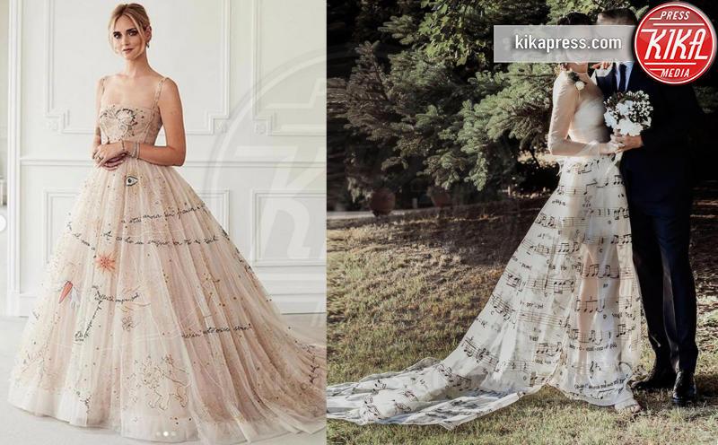 Marica Pellegrinelli, Chiara Ferragni - 02-09-2018 - Chiara Ferragni e Marica spose, chi lo indossa meglio?