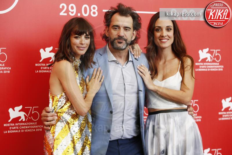 Pablo Trapero, Martina Gusman, Berenice Bejo - Venezia - 02-09-2018 - Venezia 75: il sorriso di Berenice Bejo conquista tutti