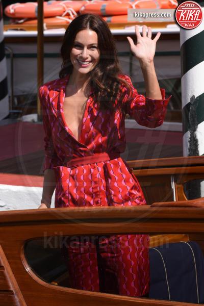 Paola Turani - Venezia - 02-09-2018 - Venezia 75: l'arrivo al Lido di Giulia De Lellis e Serena Rossi