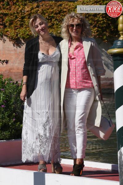 Valeria Bruni Tedeschi, Valeria Golino - Venezia - 04-09-2018 - Venezia 75: l'arrivo in darsena di Valeria e... Valeria!