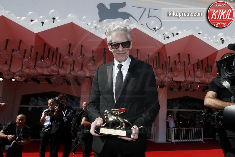 David Cronenberg - Venezia - 06-09-2018 - Venezia 75: David Cronenberg controcorrente, 'Viva Netflix'
