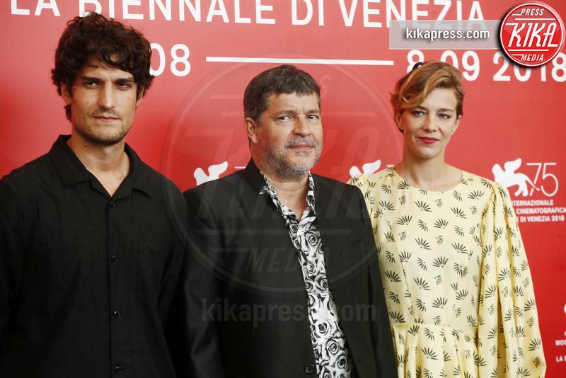 Luis Garrel, Pierre Schoeller, Celine Sallette - Venezia - 07-09-2018 - Venezia 75: Louis Garrel in Un popolo e il suo re