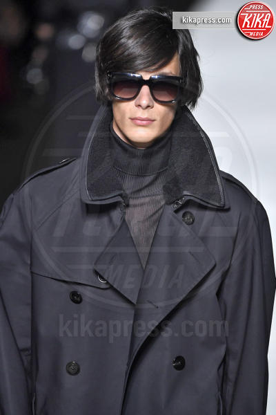 Sfilata Tom Ford, Model - New York - 06-09-2018 - New York Fashion Week: Gigi Hadid è la dark lady di Tom Ford