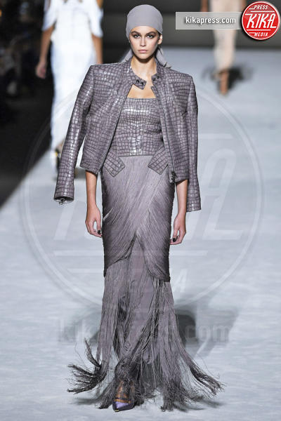 Sfilata Tom Ford, Kaia Gerber - New York - 06-09-2018 - New York Fashion Week: Gigi Hadid è la dark lady di Tom Ford