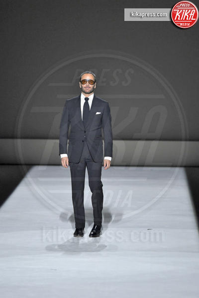 Sfilata Tom Ford, Tom Ford - New York - 06-09-2018 - New York Fashion Week: Gigi Hadid è la dark lady di Tom Ford
