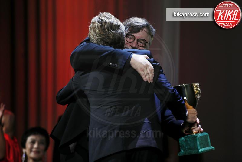 Guillermo del Toro, Willem Dafoe - Venezia - 08-09-2018 - Venezia 75, il Leone d'Oro ad Alfonso Cuaron: la cerimonia