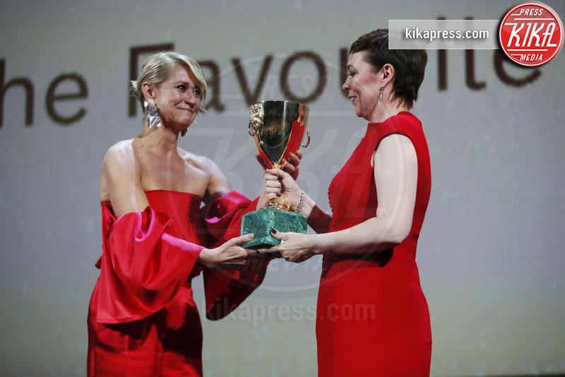 Olivia Colman, Trine Dyrholm - Venezia - 08-09-2018 - Venezia 75, il Leone d'Oro ad Alfonso Cuaron: la cerimonia
