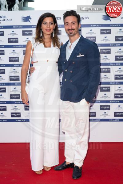 Tania Bambaci, Samuel Peron - Roma - 08-09-2018 - Horse Show Dinner a Roma: i vip nostrani si godono lo spettacolo