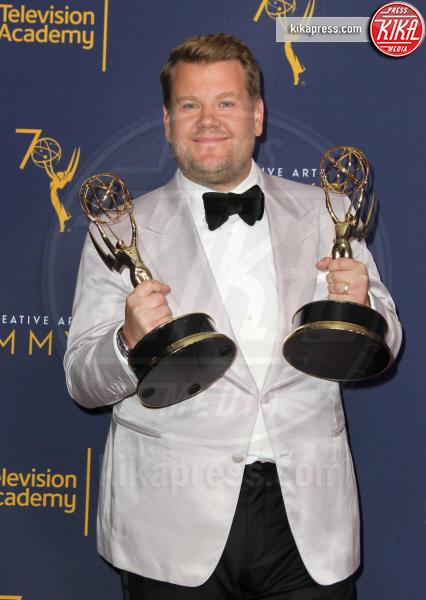 James Corden - Los Angeles - 08-09-2018 - Creative Art Emmy Awards: tra gli ospiti Monica Lewinsky
