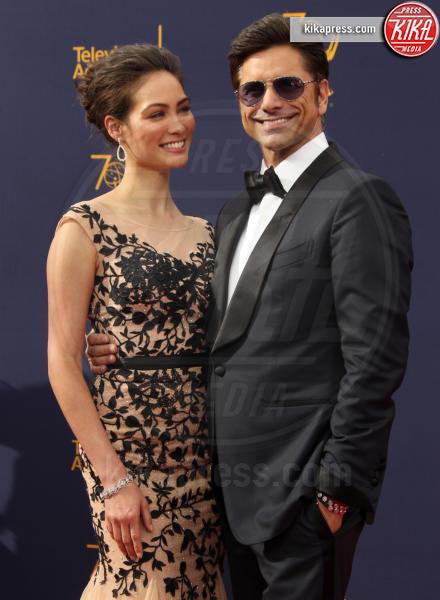 Caitlin McHugh, John Stamos - Los Angeles - 08-09-2018 - Creative Art Emmy Awards: tra gli ospiti Monica Lewinsky