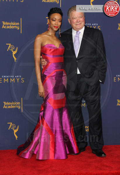 Sonequa Martin-Green, William Shatner - Los Angeles - 08-09-2018 - Creative Art Emmy Awards: tra gli ospiti Monica Lewinsky