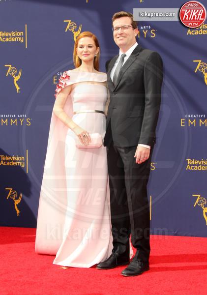 Peter Lanfer, Sarah Drew - Los Angeles - 08-09-2018 - Creative Art Emmy Awards: tra gli ospiti Monica Lewinsky