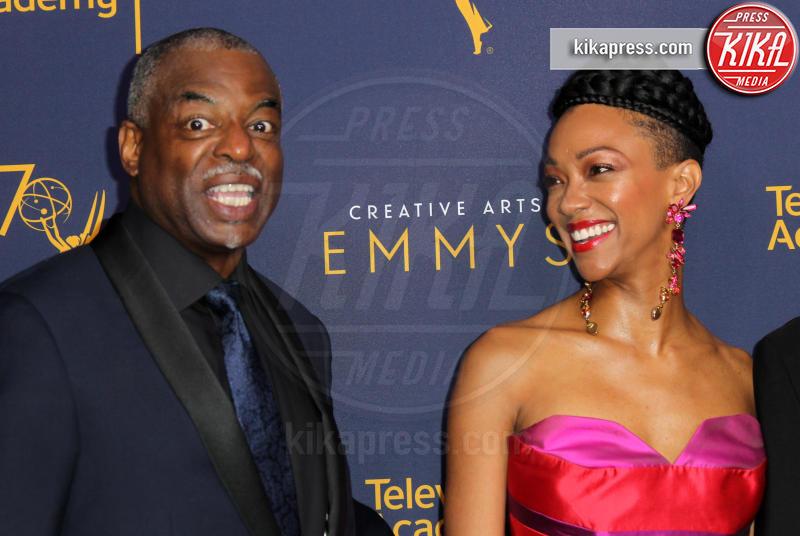 Sonequa Martin-Green, Lavar Burton - Los Angeles - 08-09-2018 - Creative Art Emmy Awards: tra gli ospiti Monica Lewinsky