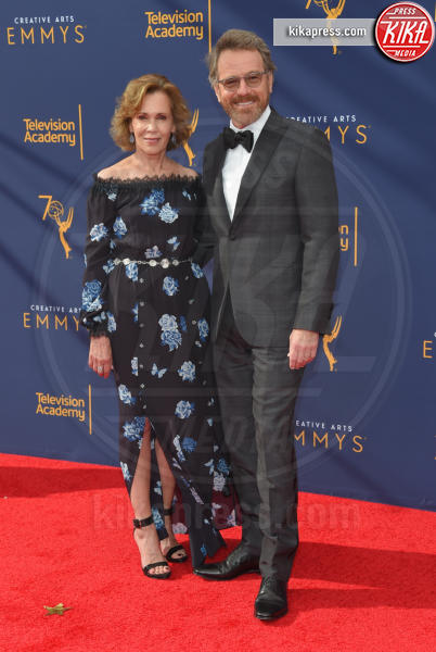 Robin Dearden, Bryan Cranston - Los Angeles - 08-09-2018 - Creative Art Emmy Awards: tra gli ospiti Monica Lewinsky