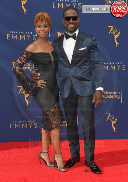 Sterling K. Brown, Ryan Michelle Bathe - Los Angeles - 08-09-2018 - Creative Art Emmy Awards: tra gli ospiti Monica Lewinsky