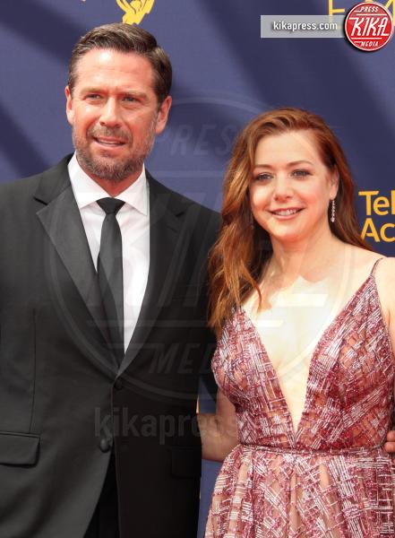 Alexis Denisof, Alyson Hannigan - Los Angeles - 08-09-2018 - Creative Art Emmy Awards: tra gli ospiti Monica Lewinsky