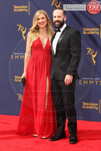 Byron Slaybaugh, Leah Roach - Los Angeles - 08-09-2018 - Creative Art Emmy Awards: tra gli ospiti Monica Lewinsky