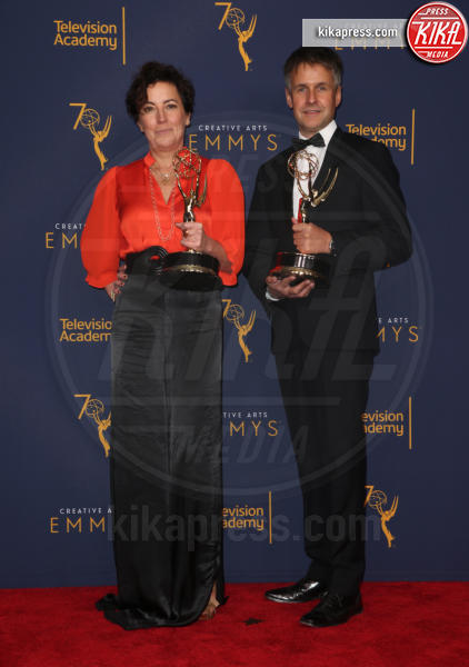 Robert Sterne, Nina Gold - Los Angeles - 09-09-2018 - Creative Art Emmy Awards: tra gli ospiti Monica Lewinsky