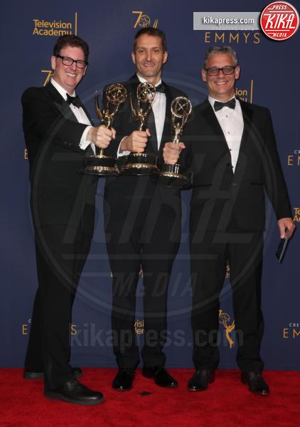 Mark Hensley, Tamas Csaba, Bob Bronow - Los Angeles - 09-09-2018 - Creative Art Emmy Awards: tra gli ospiti Monica Lewinsky