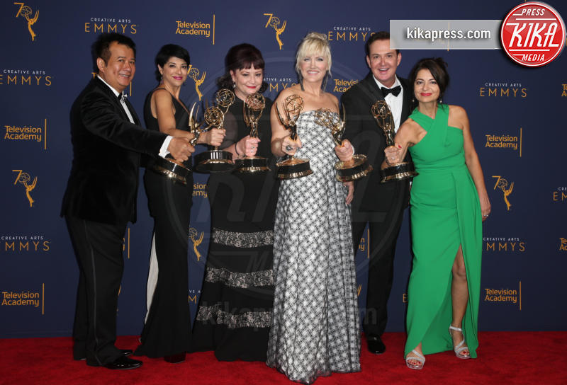 Ana Lozano, Eryn Krueger Mekash, Robin Beauchesne, Silvina Knight, Tym Buacharern, David Williams - Los Angeles - 09-09-2018 - Creative Art Emmy Awards: tra gli ospiti Monica Lewinsky