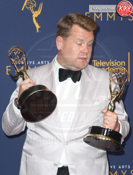 James Corden - Los Angeles - 09-09-2018 - Creative Art Emmy Awards: tra gli ospiti Monica Lewinsky