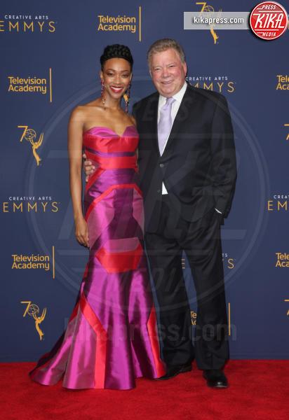 Sonequa Martin-Green, William Shatner - Los Angeles - 09-09-2018 - Creative Art Emmy Awards: tra gli ospiti Monica Lewinsky
