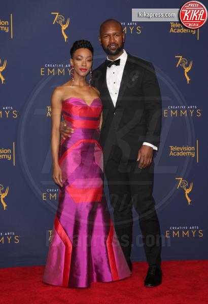 Kenric Green, Sonequa Martin-Green - Los Angeles - 09-09-2018 - Creative Art Emmy Awards: tra gli ospiti Monica Lewinsky