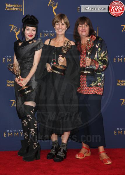 Gaby Spanswick, Jane Petrie, Basia Kuznar - Los Angeles - 09-09-2018 - Creative Art Emmy Awards: tra gli ospiti Monica Lewinsky