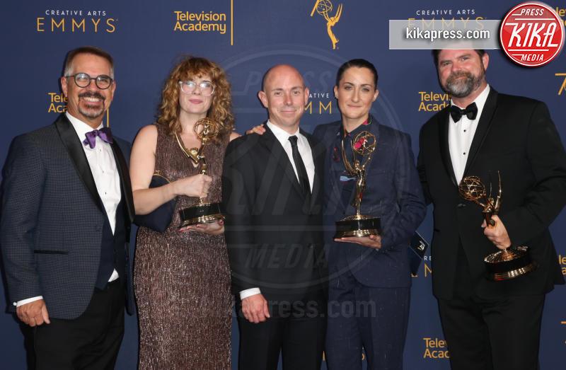 Todd Fjelsted, Liza Chenault, Ryan Watson, Harry Otto, Vanessa Riegel - Los Angeles - 09-09-2018 - Creative Art Emmy Awards: tra gli ospiti Monica Lewinsky