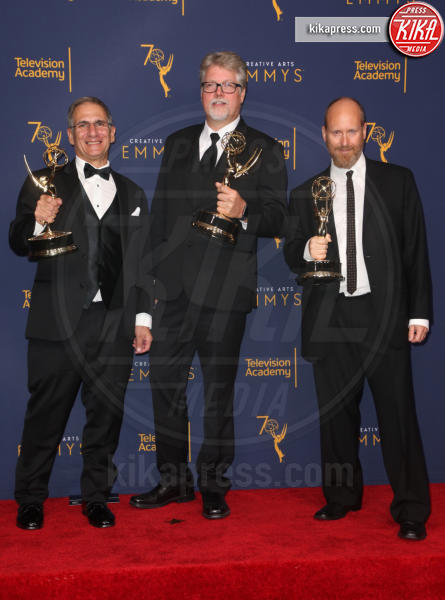 Ben Patrick, Elmo Ponsdomenech, Todd Beckett - Los Angeles - 09-09-2018 - Creative Art Emmy Awards: tra gli ospiti Monica Lewinsky