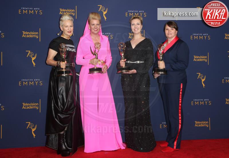 Nora Pedersen, Rebecca Guzzi, Allison Leech, Lou Eyrich - Los Angeles - 09-09-2018 - Creative Art Emmy Awards: tra gli ospiti Monica Lewinsky