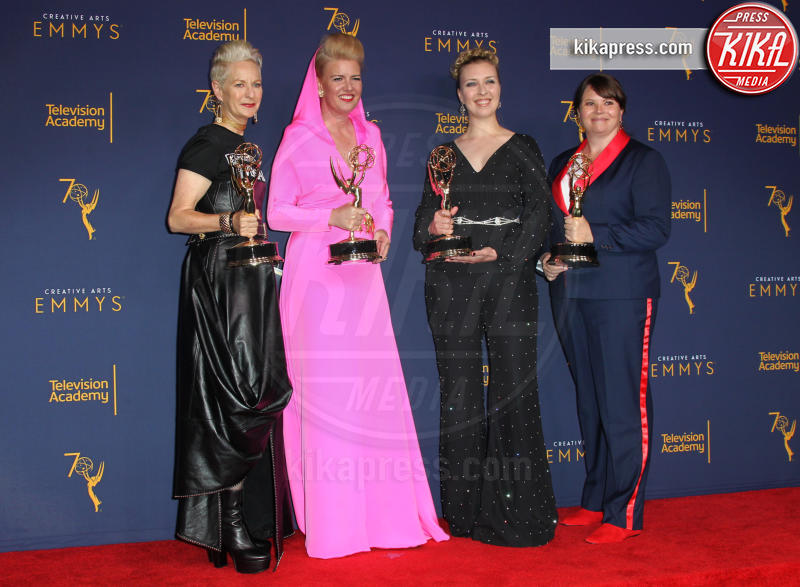 Nora Padersen, Rebecca Guzzi, Lou Eyrich, Allison Leach - Los Angeles - 08-09-2018 - Creative Art Emmy Awards: tra gli ospiti Monica Lewinsky