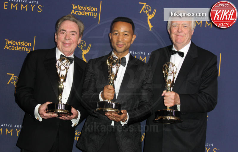 Andrew Lloyd Webber, TIM RICE, John Legend - Los Angeles - 09-09-2018 - Creative Arts Emmy, Anthony Bourdain vince due premi postumi