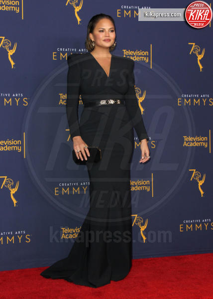 Chrissy Teigen - Los Angeles - 09-09-2018 - Creative Arts Emmy, Anthony Bourdain vince due premi postumi