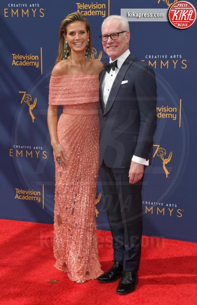 Tim Gunn, Heidi Klum - Los Angeles - 09-09-2018 - Creative Arts Emmy Awards, Heidi Klum si prende la scena