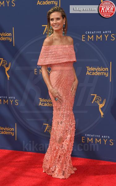 Heidi Klum - Los Angeles - 09-09-2018 - Creative Arts Emmy Awards, Heidi Klum si prende la scena