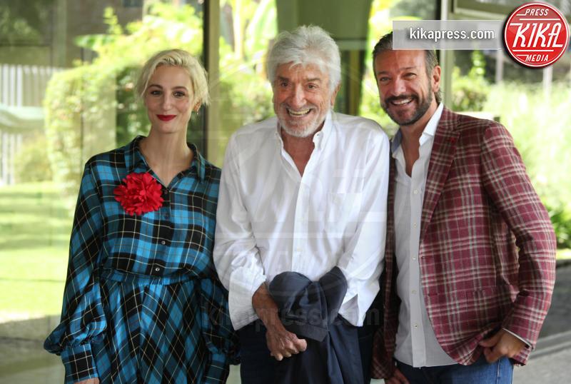 Gigi Proietti, Sergio Assisi, Francesca Inaudi - Roma - 10-09-2018 - Gigi Proietti pronto per Una Pallottola nel cuore 3