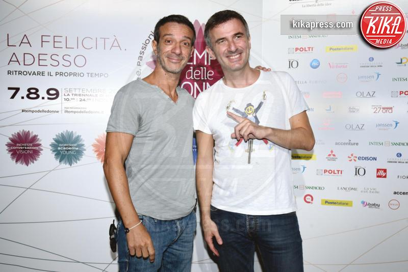 Ficarra e Picone - Milano - 08-09-2018 - Ilaria D'Amico & Co.: a Milano è arrivato Il Tempo delle Donne