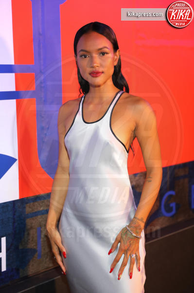 Karrueche Tran - New York - 11-09-2018 - NYFW: TommyXLewis Hamilton, ma la star è Gigi Hadid!